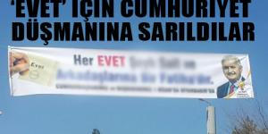Diyarbakır'da cumhuriyet karşıtı pankart