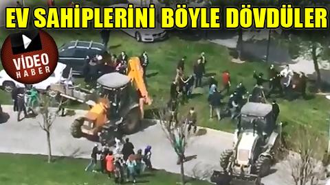 İstanbul'da milyon dolarlık zorbalık!