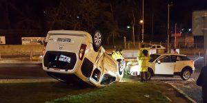 Hacıosman'da trafik kazası. Yaralılar var.