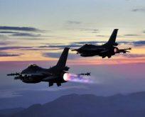 TSK'dan Sincar ve Suriye'ye hava harekatı