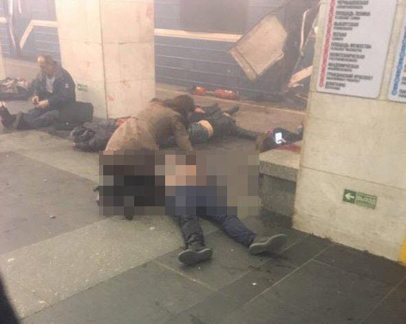 Rusya'da metro istasyonunda terör saldırısı