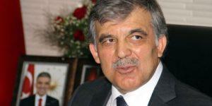 Abdullah Gül'den dikkat çekici çıkış