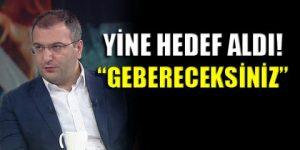 Cem Küçük'ten Cumhuriyet'e tehdit!