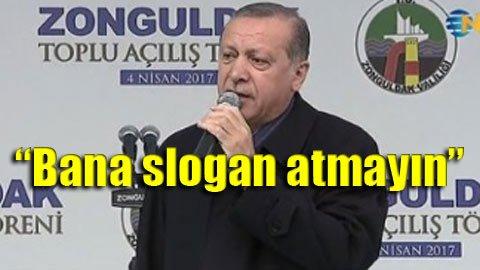 Erdoğan'a protesto şoku!