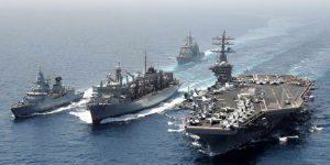 ABD savaş gemilerini yola çıkardı