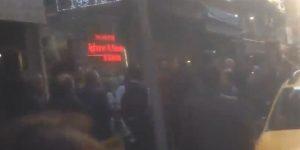 VİDEO – Şişli'de AKP'li taksici dehşeti.