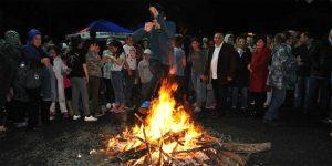 Sarıyer'de Hıdırellez kutlamaları.