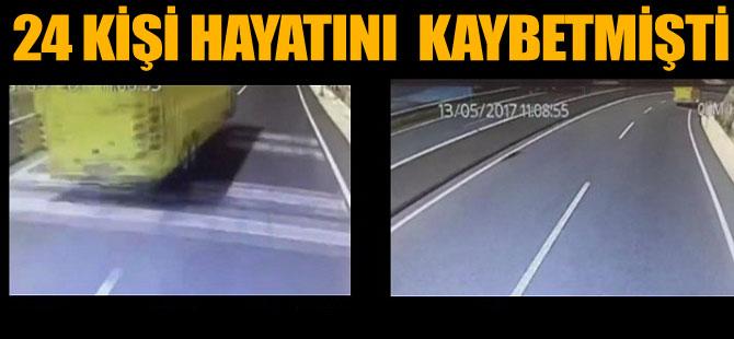 Marmaris'teki korkunç kaza anı kamerada videosu