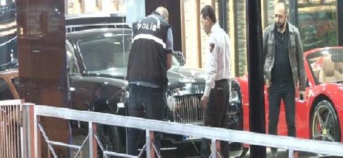 Lüks araç galerisine silahlı saldırı