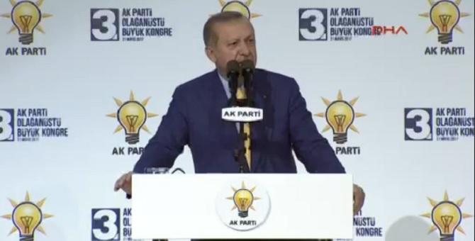 Erdoğan'dan AKP teşkilatları için flaş açıklama