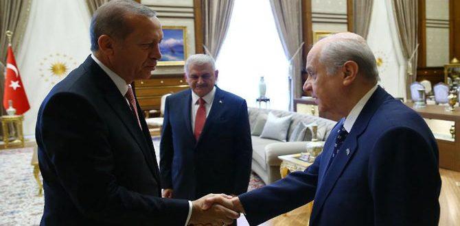 Erdoğan'dan Devlet Bahçeli'ye 'Saray'a gel' daveti