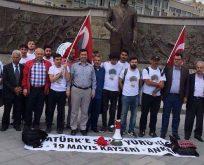 CHP'li gençler Ankara'ya yürüyor