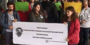 İTÜ'deki iş cinayeti protesto edildi.