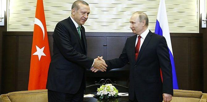 Erdoğan – Putin zirvesinde ilk açıklama