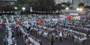Geleneksel Ramazan Sofraları Kuruluyor.