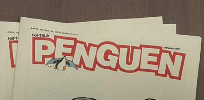 Penguen'den manidar Wikipedia kapağı