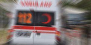 İstanbul'da minibüs refüje çıktı: Yaralılar var