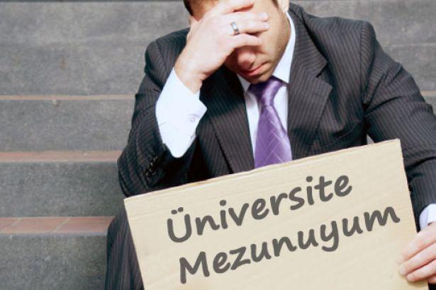 İşsiz üniversite mezunu sayısı 320 bin 108