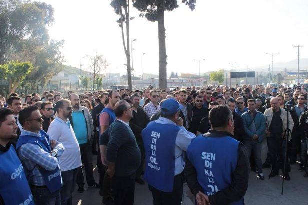 Tüpraş'ta direniş sürüyor: İşçiler işbaşı yapmadı