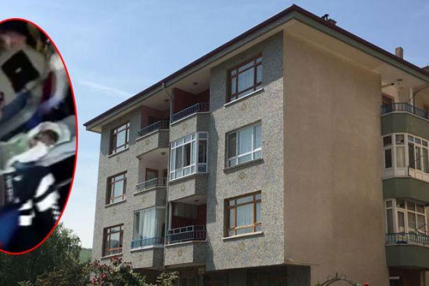 Ankara'da yeni doğmuş bir bebeği apartman boşluğuna attılar!