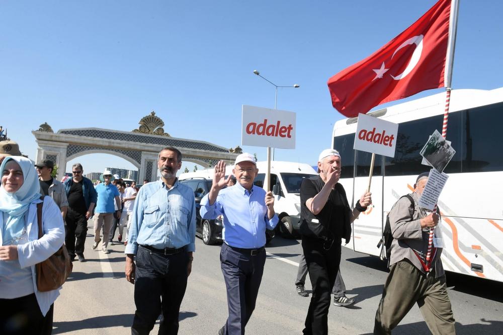 Kılıçdaroğlu'nun İstanbul yürüyüşünde son durum