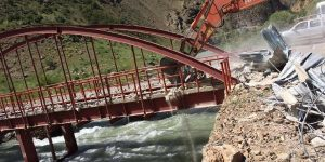 PKK'nın eylem için kullandığı köprüye operasyon!