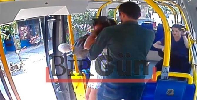 Şort giyen genç kıza saldırının görüntüleri ortaya çıktı