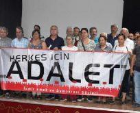İzmir'de 'Adalet Nöbeti' başlıyor