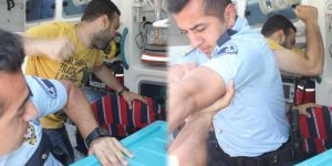 Çocuğu taciz etti, ambulansta linç ediliyordu!