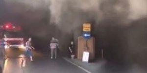 İstanbul Bisikletçiler Çarşısı'nda yangın