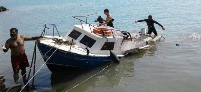 Sarıyer'de tekne kazası: 3 yaralı