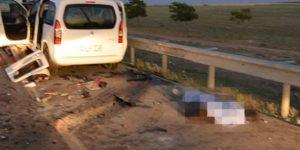 2 ilde kaza: 5 kişi hayatını kaybetti, 2 kişi yaralandı