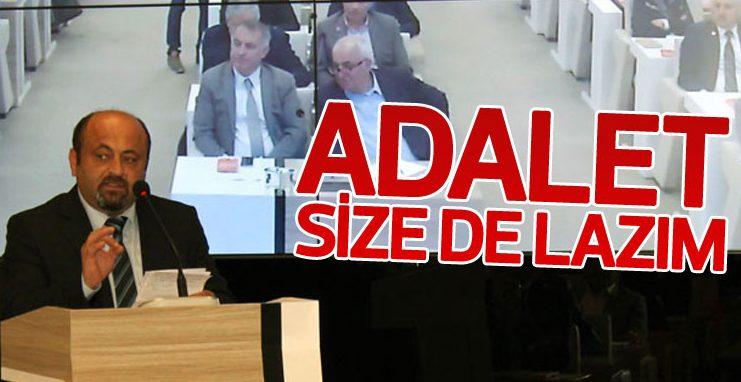 Mustafa Bakır, Adalet Yürüyüşü'nü eleştiren AK Partililere cevap verdi