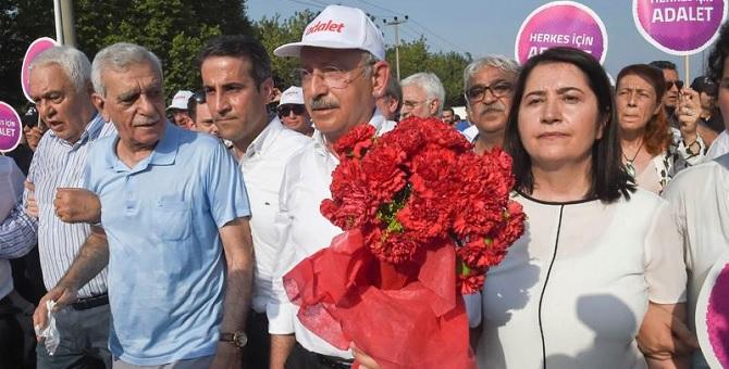 Ahmet Türk: Yürüyüş ortak mücadaleye dönüşmeli