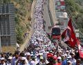 """""""Ben CHP'li değilim, bu yürüyüşe katılıyorum"""""""