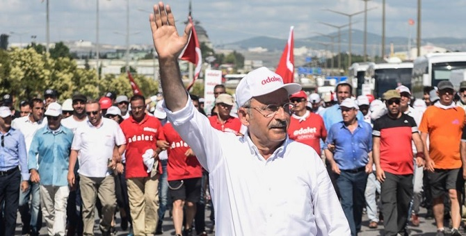 'Adalet Yürüyüşü' 23. gününde