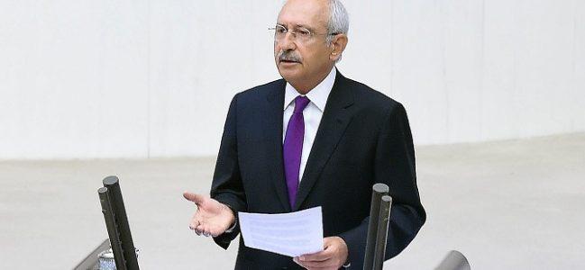 Kılıçdaroğlu'dan grup toplantısından Berberoğlu'na selam