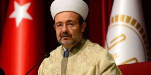 Mehmet Görmez ayrılık iddiası için ilk kez konuştu