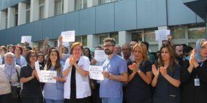Ankara'da hasta yakınları 2 doktoru darp etti