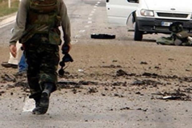 Hakkari'de patlama; 4 asker hayatını kaybetti, 5 yaralı