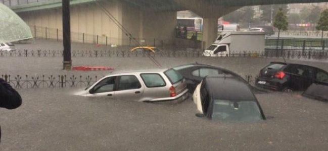 VİDEO- AKP çalışıyor! İstanbul sular altında…