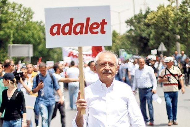 Adalet Yürüyüşü'nde miting günü