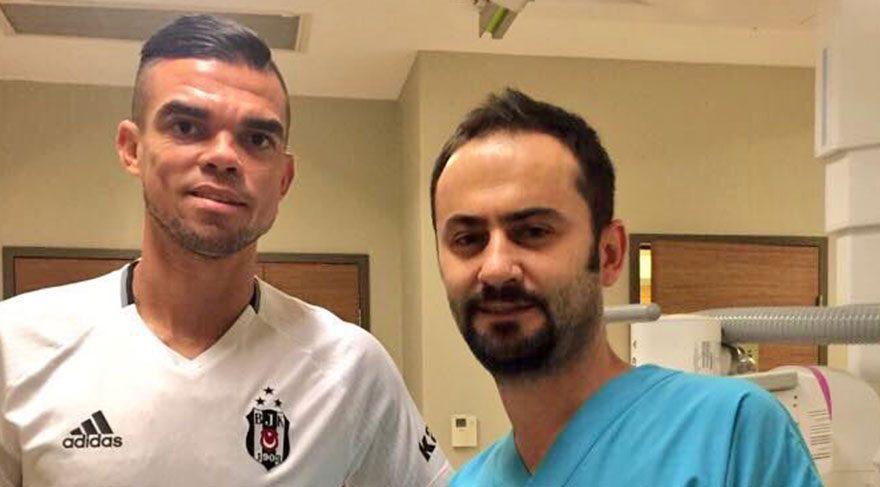 Pepe sağlık kontrolünden geçti