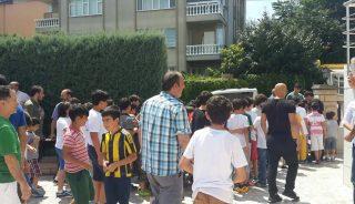 Yeniköy'de İsrail protestosu!