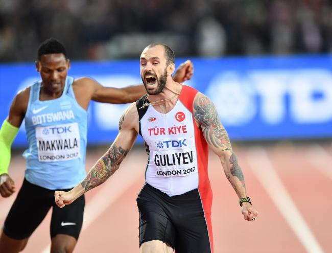 Ramil Guliyev'den Türkiye'ye altın madalya