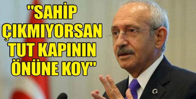 Kılıçdaroğlu'ndan Erdoğan'a 'Ayhan Oğan' tepkisi!