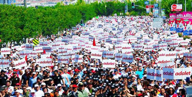 7 bin kişi 'ADALET' için konuşacak