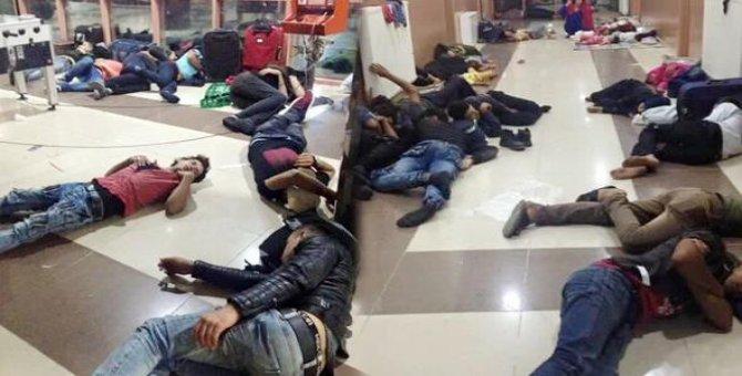 Suriyelilerin Kilis otogarındaki bekleyişine tepki yağdı