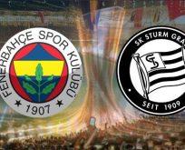 UEFA Avrupa Ligi – Fenerbahçe-Sturm Graz