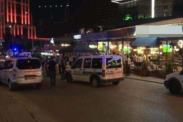 Ankara Çukurambar'da silahlı saldırı